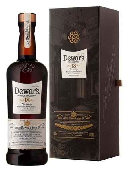 Hình của Rượu Dewar's 18 năm