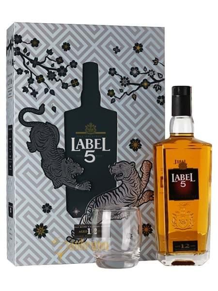 Hình của Rượu Label 5 12 năm - Hộp quà tết 2019
