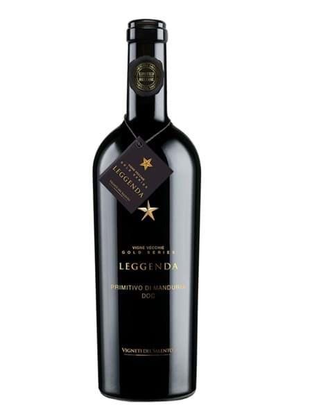 Hình của Rượu vang Leggenda Primitivo Limited