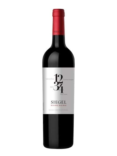 Hình của Rượu vang Siegel Reserva 1234 Red