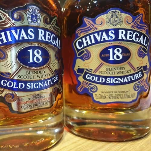 Những lầm tưởng xuất xứ rượu Chivas.