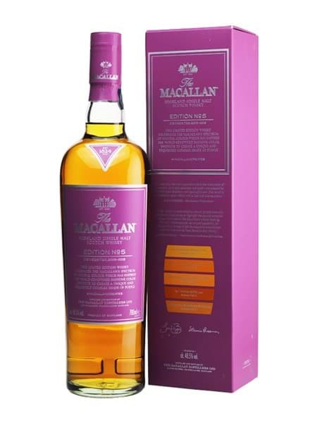 Rượu Macallan Edition No. 5