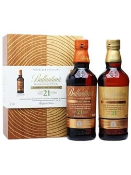 Rượu Ballantine's 21 Signature Oak Collection
