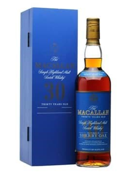 Rượu Macallan 30 năm Sherry Oak Blue Label