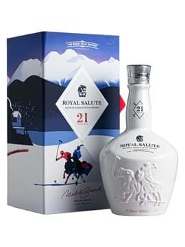 Rượu Royal Salute 21 năm Snow Polo Edition