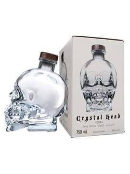 Rượu Vodka Crystal Head