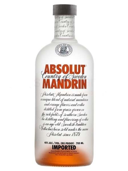 Hình của Rượu Vodka Absolut Mandrin (Cam)