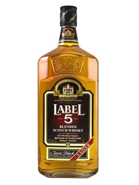 Hình của Rượu Label 5 1L