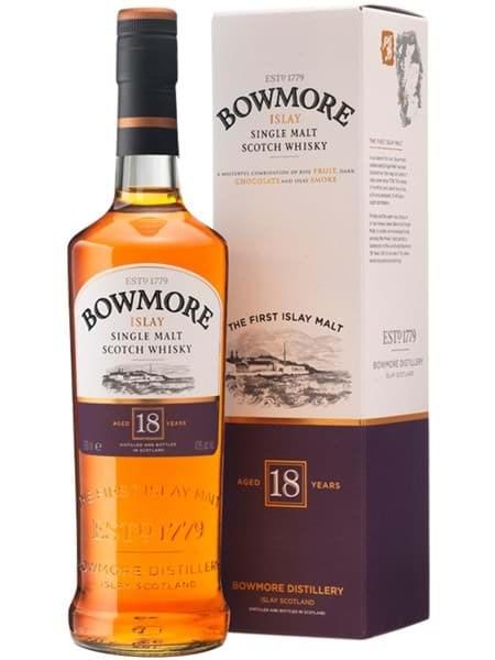 Hình của Rượu Bowmore 18 năm