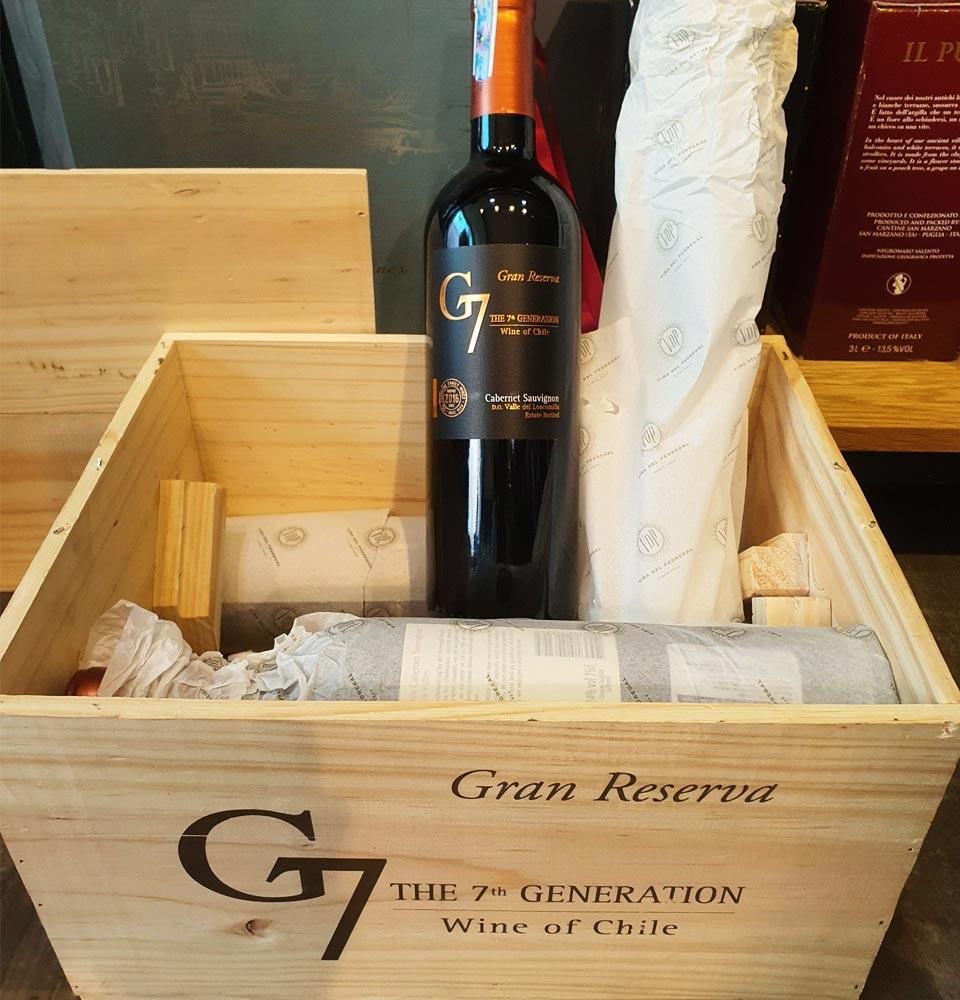 Vang Chile G7 Gran Reserva Cabernet Sauvignon - Sành rượu: Wine ...